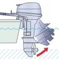 Двигател Yamaha F20G - с възможност за управление в плитки води