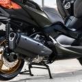 Yamaha XMAX 300 Tech Max - опушено стъкло на задните светлини