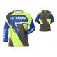 Кросова фланелка Yamaha MX Lyng Jersey в синьо-зелено A17GT112G1