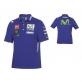 Оригинална тениска с яка и копчета Yamaha Polo с автентична MotoGP визия, сезон 2017 - B17GP110E0