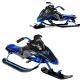 Детска зимна шейна от Yamaha реплика на снегоход Apex в синьо или червено - N16MP603C