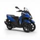 Скутер Yamaha Tricity 155 2019 Cyber Blue - движение на три колела