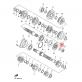 Заключваща шайба за пиньон Yamaha 902152129000