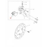 Предни накладки за скутер YAMAHA 5MFF58110000