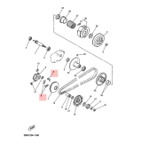 Ролки за вариатор Yamaha 3VLE763201PL