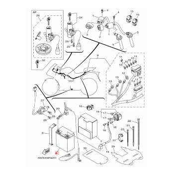 Акумулатор Yamaha 1WDH21000000