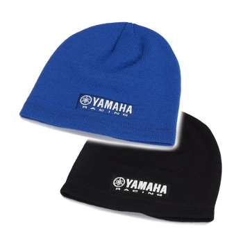 Мека и тънка, плетена шапка Yamaha Paddock Blue Beanie сезон 2018 - N18FH312
