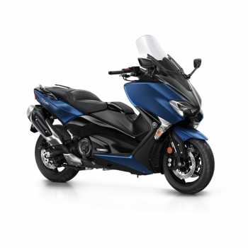 Новият скутер на Yamaha - TMAX SX Phantom Blue 2019