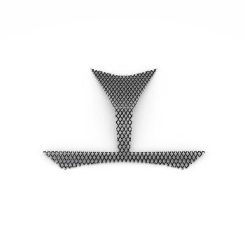 Стилна решетка за предния въздуховод на мотоциклет Yamaha Tracer 900 - 2PPFSIMS0000