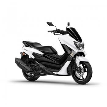 Скутер Yamaha NMAX 125 Milky White - нова градска мобилност, спортен дух и икономия