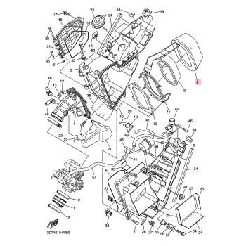 Въздушен филтър Yamaha 1LN144510000