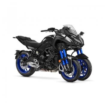 Революционният, триколесен LMW мотоциклет Yamaha NIKEN 2019