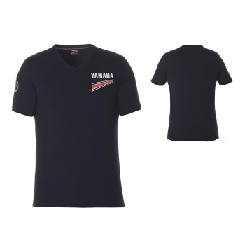 Тениска с V-образно деколте Yamaha Passol от REVS колекцията за сезон 2017, мъжка - B17AT116B0