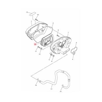Въздушен филтър Yamaha - 1TP144510000