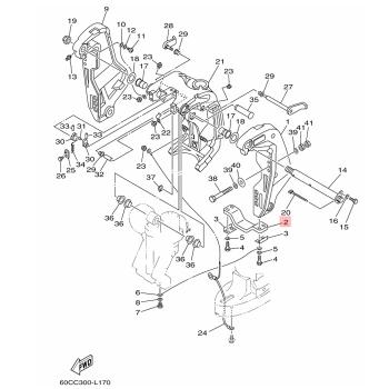 Анод за двигател Yamaha 6G5452510200