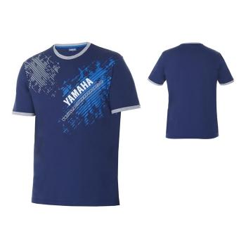 Памучна тениска Yamaha Ocean от новата Marine WR колекция - K17AT115E4