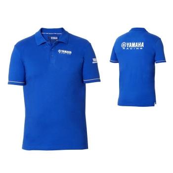 Мъжка тениска с яка и копчета Yamaha Paddock Blue Polo, сезон 2018 - B18FT114E0