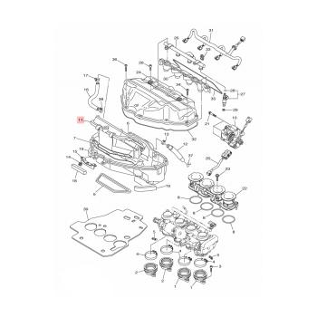 Въздушен филтър Yamaha - 13S144502000
