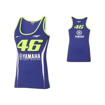 Памучен дамски потник Yamaha Rossi VR46 от новата MotoGP колекция за сезон 2017 - B17VR208E0