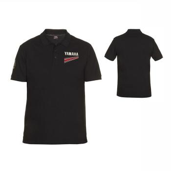 Стилна мъжка тениска с яка и копчета, тип поло, Yamaha REVS Nuovo Polo - B17AT114B0