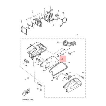 Въздушен филтър Yamaha 3VLE44510100