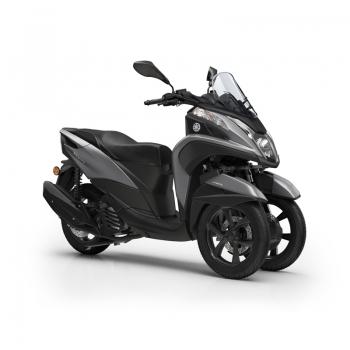 Скутер Yamaha Tricity 125 Matt Grey - мобилност на три колела