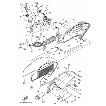 Въздушен филтър Yamaha BB8E44510000
