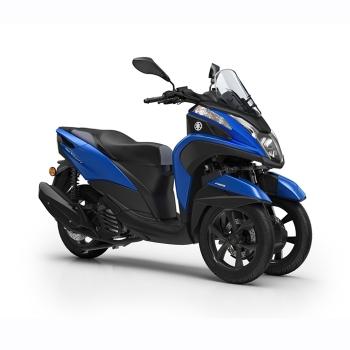 Скутер Yamaha Tricity 155 Cyber Blue - движение на три колела