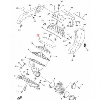 Въздушен филтър Yamaha 1SL144510000