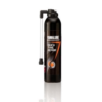 Yamalube QUICK TYRE REPAIR - специален спрей за бързо залепване на спукана гума YMD65049A112