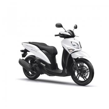 Скутер Yamaha Xenter 125 2019 Competition White - печели време в градския трафик
