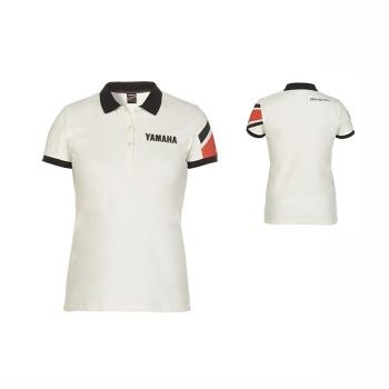 Стилна дамска тениска с яка и копчета, тип поло, Yamaha REVS Giggle Polo - B17AT209W6