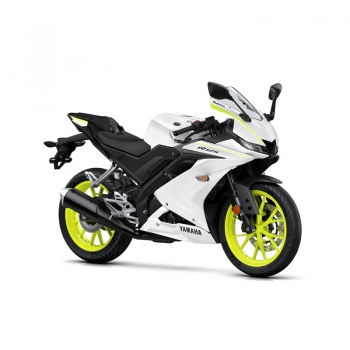 Мотоциклет Yamaha YZF-R125 2019 Competition White YAMAHABOX