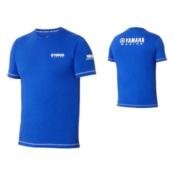 Спортна мъжка тениска Yamaha Paddock Blue Polo, сезон 2018 - B18FT101E0