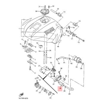 Горивен филтър Yamaha 1FK245601000