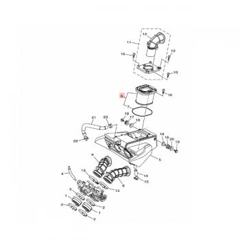 Въздушен филтър Yamaha 1WS144500000
