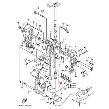 Анод за двигател Yamaha 6H1452510300