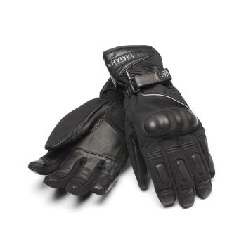 Висококачествени пролетно-есенни ръкавици за мотоциклет от кожа и текстил Yamaha Mid Season