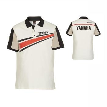 Стилна мъжка тениска с яка и копчета, тип поло, Yamaha REVS Mio Polo - B17AT109W6
