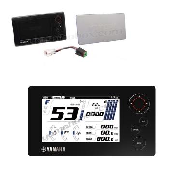 Мултифункционален LCD дисплей Yamaha 6Y9 за извънбордови двигатели