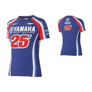 Оригинална дамска тениска Yamaha Vinales MV25 сезон 2018 - B18MV200E0