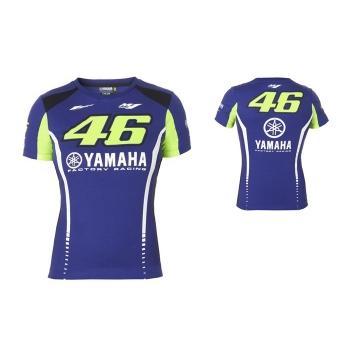 Дамска памучна тениска Yamaha Rossi VR46 от MotoGP колекцията за сезон 2017 - B17VR200E0