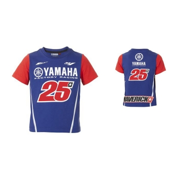 Оригинална детска тениска Yamaha Vinales MV25 сезон 2018 - B18MV400E0