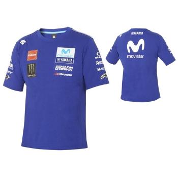 Оригинална тениска Yamaha с автентична MotoGP визия сезон 2018 - B18GP101E0