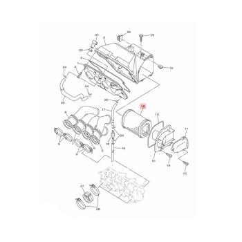 Въздушен филтър Yamaha - 5JW144510000